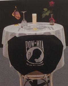 POW-MIA LONELY TABLE